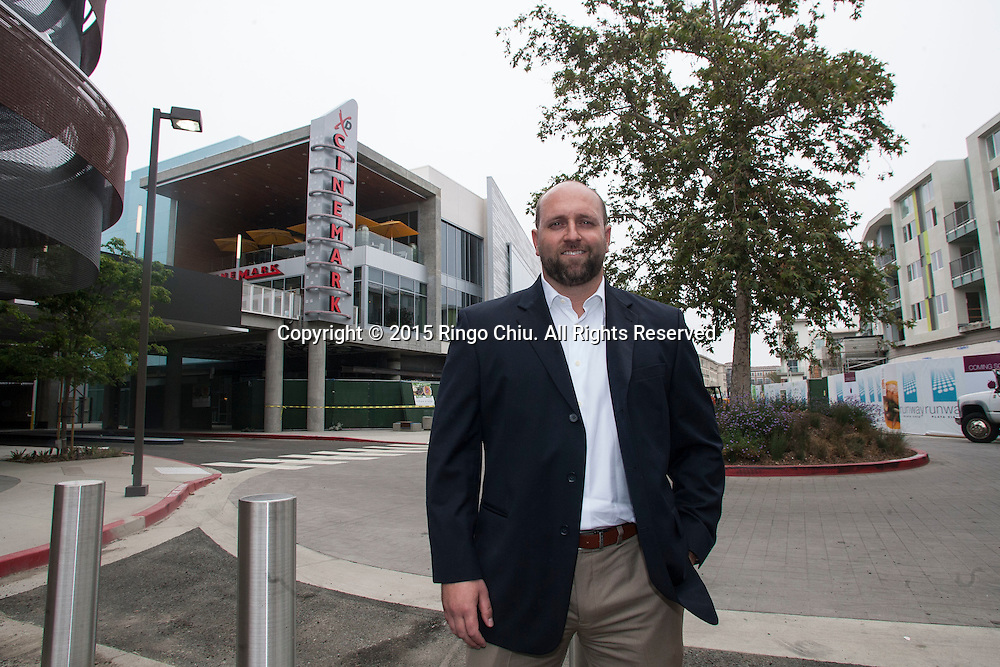 Chris Daniell, retail division manager for Lincoln Property at the Runway at Playa Vista. (Photo by Ringo Chiu/PHOTOFORMULA.com)