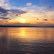 &quot;Glorious Setting&quot;<br /> <br /> Pastel sunset on the Great Lakes.<br /> <br /> Sunset Images by Rachel Cohen