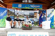 Marco Belinelli, Danilo Gallinari, Ettore Messina<br /> Raduno Nazionale Maschile Senior<br /> Raduno Giorno 6<br /> Conferenza Stampa<br /> Folgaria 27/07/2017<br /> Foto Ciamillo-Castoria/ A.Gilardi