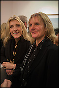 CAMILLA ALEXANDRA;  ANNABELLE BOWMAN-SHAW; , Mim Scala, In Motion, private view. Eleven. Eccleston st. London. 9 October 2014.