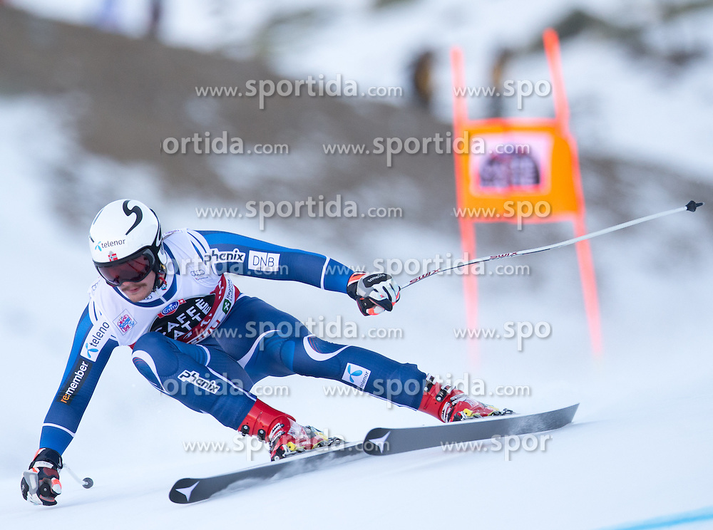 28.12.2015, Deborah Compagnoni Rennstrecke, Santa Caterina, ITA, FIS Ski Weltcup, Santa Caterina, Abfahrt, Herren, 2. Training, im Bild Adrian Smiseth Sejersted (NOR) // Adrian Smiseth Sejersted of Norway in action during the 2nd practice run of men's Downhill of the Santa Caterina FIS Ski Alpine World Cup at the Deborah Compagnoni Course in Santa Caterina, Italy on 2015/12/28. EXPA Pictures © 2015, PhotoCredit: EXPA/ Johann Groder