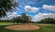 View of the fairway bunkers on the 1st on the East Course, Royal Johannesburg & Kensington Golf Club, Gauteng, Johannesburg, South Africa.  11/01/2016. Picture: Golffile | David Lloyd<br /> <br /> All photos usage must carry mandatory copyright credit (© Golffile | David Lloyd)