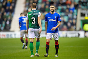 Eros Grezda (#35) of Rangers FC during the Ladbrokes Scottish Premiership match between Hibernian and Rangers at Easter Road, Edinburgh, Scotland on 19 December 2018.
