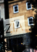 A graduate of Savannah College of Art and Design, owner and designer of Zia Boutique, Zia Sachedina opened his shop in 2005 in historic downtown Savannah. (Photo by Stephen Morton)