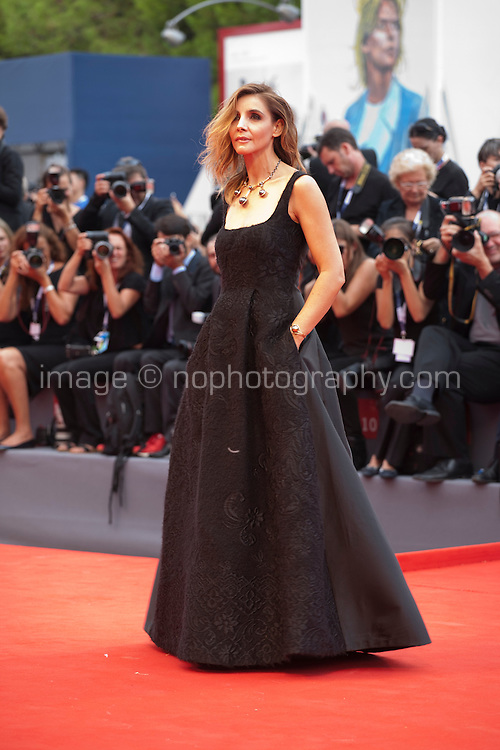 Clotilde Courau at the gala screening for the film Everest and opening ceremony at the 72nd Venice Film Festival, Wednesday September 2nd 2015, Venice Lido, Italy.