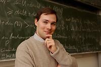 05 FEB 2003, BERLIN/GERMANY:<br /> Bence Bauer, Schatzmeister Ring Christlich-Demokratischer Studenten, RCDS, Humbold Universitaet (Bauer studiert nicht hier)<br /> IMAGE: 20030205-02-014