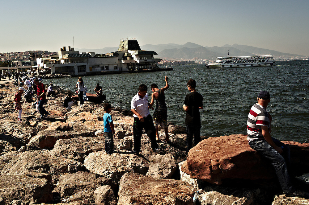 Konak pier, Izmir, Turkey.