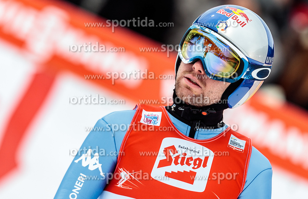 18.12.2016, Nordische Arena, Ramsau, AUT, FIS Weltcup Nordische Kombination, Skisprung, im Bild Alessandro Pittin (ITA) // Alessandro Pittin of Italy reacts during Skijumping Competition of FIS Nordic Combined World Cup, at the Nordic Arena in Ramsau, Austria on 2016/12/18. EXPA Pictures © 2016, PhotoCredit: EXPA/ JFK