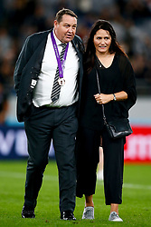 Steve Hansen All Blacks Head Coach of New Zealand (All Blacks) during the Bronze Final match between New Zealand and Wales Mandatory by-line: Steve Haag Sports/JMPUK - 01/11/2019 - RUGBY - Tokyo Stadium - Tokyo, Japan - New Zealand v Wales - Bronze Final - Rugby World Cup Japan 2019