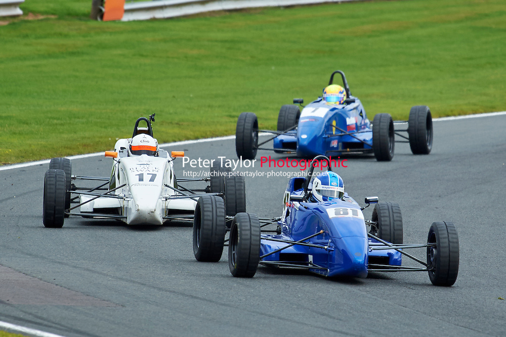 #81 Josh Fisher Van Diemen 99 \during Avon Tyres Formula Ford 1600 Northern Championship - Prost 89 Race 1 as part of the BRSCC Fun Cup Oulton Park 17th October 2015 at Oulton Park, Little Budworth, Cheshire, United Kingdom. October 17 2015. World Copyright Taylor/PSP. Copy of publication required for printed pictures.  Every used picture is fee-liable. http://archive.petertaylor-photographic.co.uk