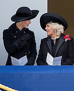London, 13-11-2016 <br /> <br /> The Queen and The Duke of Edinburg and other members of the British Royal Family attend REMEMBRANCE SUNDAY<br /> <br /> COPYRIGHT ROYALPORTRAITS EUROPE/ BERNARD RUEBSAMEN