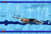 Paul-Gabriel Bedel (FRA) competes on Men's 100 m Backstroke during the Swimming European Championships Glasgow 2018, at Tollcross International Swimming Centre, in Glasgow, Great Britain, Day 4, on August 5, 2018 - Photo Stephane Kempinaire / KMSP / ProSportsImages / DPPI