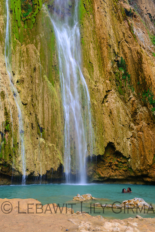 El Limon Waterfall, Samana Peninsula<br />