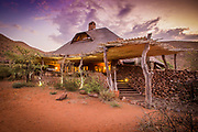 Luxury accomodation at Tswalu game reserve in the Kalahari. Desert safari at it's best and photographed with glee.