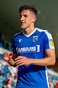 Gillingham FC defender Alfie Jones  (14)  after the EFL Sky Bet League 1 match between Gillingham and Wycombe Wanderers at the MEMS Priestfield Stadium, Gillingham, England on 14 September 2019.