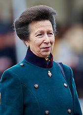 DEC 04 2013 Princess Royal presents Afghan medals to the Household Cavalry