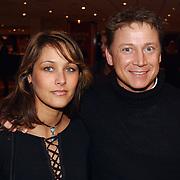 Harpengala 2003, Armando Borsato en vriendin Vanessa