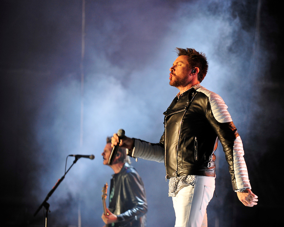 Duran Duran plays at the preview night for Musikfest on Thursday, August 6th 2015 in Bethlehem, Pa. Photo By | CHRIS POST