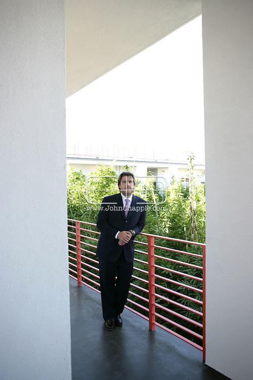 "13th September 2007, Santa Monica, California. Entertainment lawyer P. Kevin Morris who just negotiated a landmark deal that set Hollywood buzzing, for the creators of ""South Park,"" Matt Stone and Trey Parker. PHOTO © JOHN CHAPPLE / REBEL IMAGES.310 570 9100.john@chapple.biz    www.chapple.biz"