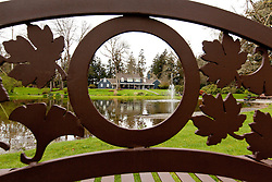 Gonyea House, Pacific Lutheran University President's home, on Thursday, April 11, 2013. (Photo/John Froschauer)