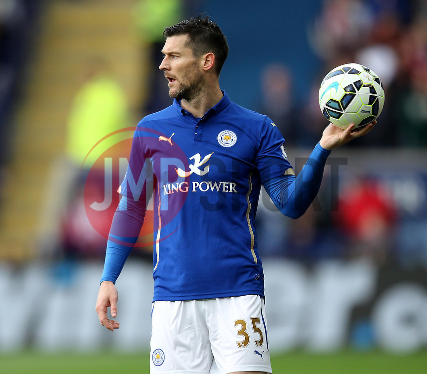 Leicester City's David Nugent - Photo mandatory by-line: Robbie Stephenson/JMP - Mobile: 07966 386802 - 09/05/2015 - SPORT - Football - Leicester - King Power Stadium - Leicester City v Southampton - Barclays Premier League