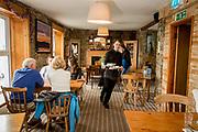 Eithna's By the Sea restaurant, in Mullaghmore, Co. Sligo.<br /> <br /> Photo: James Connolly<br /> 01JUL17
