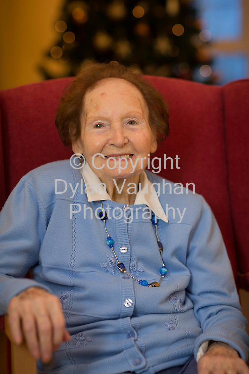 18-12-14<br /> <br /> Kathleen Delaney pictured at Drakelands Nursing Home in Kilkenny.<br /> <br /> <br /> Picture Dylan Vaughan.