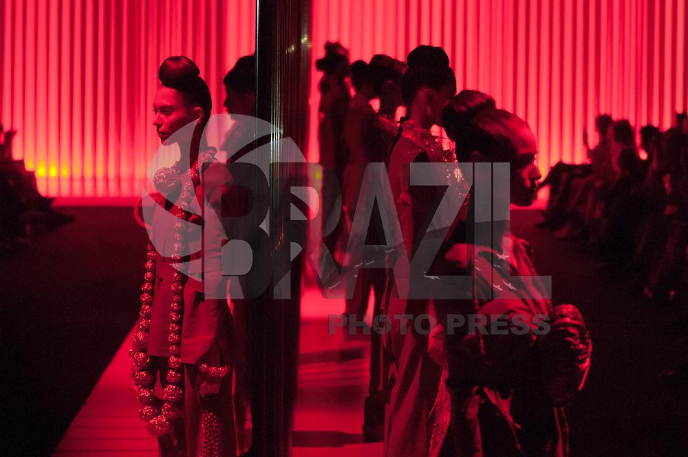 BELO HORIZONTE , MG, 08042014 _ MINAS TREND PREVIEW _ MARY DESIGN _ Desfile da colecao verao 2015 da Mary Design,  durante o Minas Trend Preview no Expominas em Belo Horizonte, na tarde desta terca-feira,08. (Foto: Sergio Falci/Brazil Photo Press).