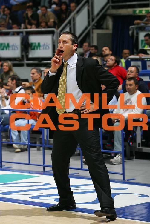 DESCRIZIONE : BOLOGNA CAMPIONATO LEGA A1 2005-2006<br /> GIOCATORE : BLATT<br /> SQUADRA : BENETTON TREVISO<br /> EVENTO : CAMPIONATO LEGA A1 2005-2006<br /> GARA : CLIMAMIO BOLOGNA-BENETTON TREVISO<br /> DATA : 30/10/2005<br /> CATEGORIA : <br /> SPORT : Pallacanestro<br /> AUTORE : Agenzia Ciamillo-Castoria/S.SILVESTRI