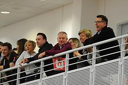 Steve Lansdown and Andrew Billingham - Photo mandatory by-line: Dougie Allward/JMP - Mobile: 07966 386802 - 27/02/2015 - SPORT - basketball - Bristol - SGS Wise Campus - Bristol Flyers v Leeds Force - British Basketball League