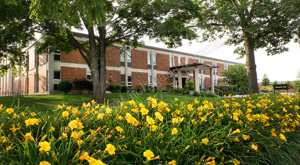 Ansbach Hall in the summer. Photo by Steve Jessmore/ Central Michigan University