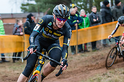 VAN LOY Ellen (BEL) during Women Elite race, 2019 UCI Cyclo-cross World Cup Heusden-Zolder, Belgium, 26 December 2019.  <br /> <br /> Photo by Pim Nijland / PelotonPhotos.com <br /> <br /> All photos usage must carry mandatory copyright credit (Peloton Photos | Pim Nijland)