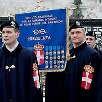 Il 136 ° anniversario della Guardia d'Onore alle reali tombe del Pantheon