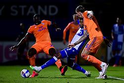 Jonah Ayunga of Bristol Rovers - Mandatory by-line: Ryan Hiscott/JMP - 28/08/2020 - FOOTBALL - Memorial Stadium - Bristol, England - Bristol Rovers v Cardiff City - Pre Season Friendly