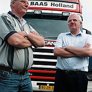 Teun en Dries Baas Internationaal transport Huizen