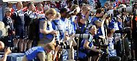 Fotball<br /> Norge<br /> 26.05.2012<br /> Norge v England 0:1<br /> Foto: Morten Olsen, Digitalsport<br /> <br /> Egil Olsen - Ola By Rise - Frode Grodås - Espen Bugge Pettersen - Norge