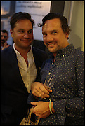 MICHAEL SHARKEY; JEFFREY WALKOWIAK, Dinosaur Designs launch of their first European store in London. 35 Gt. Windmill St. 18 September 2014