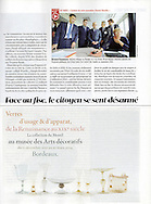 Bernard Cazeneuve dans l'hebdomadaire le Figaro Magazine.