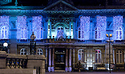 19 November 2013: Christmas lights, Hull, East Yorkshire.<br /> Town Docks Museum, Victoria Square.<br /> Picture: Sean Spencer/Hull News & Pictures Ltd<br /> 01482 772651/07976 433960<br /> www.hullnews.co.uk   sean@hullnews.co.uk