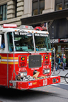Fire truck in New York October 2008