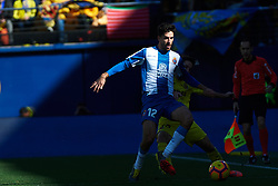 February 3, 2019 - Villarreal, Castellon, Spain - Didac Vila of RCD Espanyol during the La Liga match between Villarreal and Espanyol at Estadio de la Ceramica on February 3, 2019 in Vila-real, Spain. (Credit Image: © Maria Jose Segovia/NurPhoto via ZUMA Press)