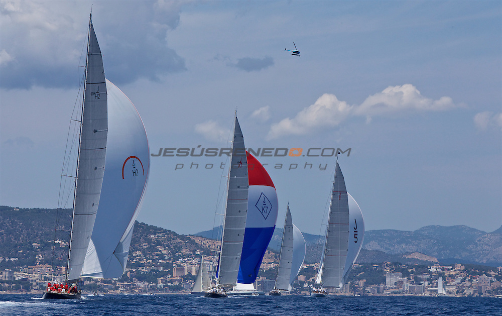 The SuperYacht Cup 2013, costal race, day 3 ©jrenedo