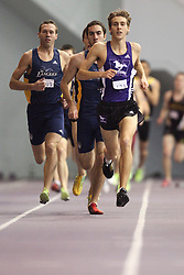 London, Ontario ---11-01-22---   Ryan Armstrong of the Western Mustangs competes at the 2011 Don Wright meet at the University of Western Ontario, January 22, 2011..GEOFF ROBINS/Mundo Sport Images.