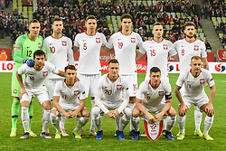 November 15, 2018 - Gdansk, Poland, Polish National Team during football friendly match between Poland - Czech Republic at the Stadion Energa in Gdansk, Poland