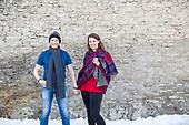 Vanessa & Johan, engagement photos in Galt