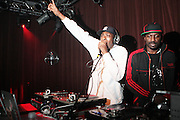 """l to r: Pete Rock and Corey Smith at BlackSmith Presents """" The Night before the Night before Christmas Produced by Jill Newman Productions held at Highline Ballroom on December 23, 2009 in New York City."""