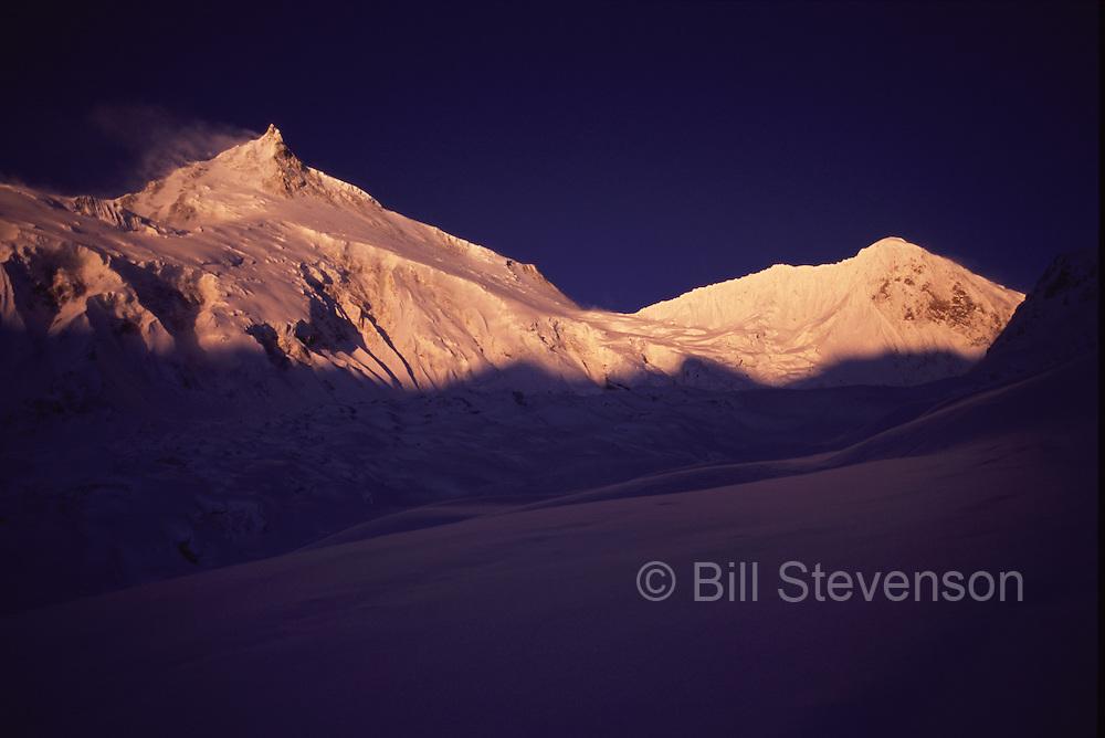 Manaslu (26,758 feet) in Nepal.