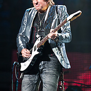 March 30, 2010 (Washington, D.C.) - Bon Jovi guitarist Richie Sambora performs in front of a packed house at the Verizon center.  The band is currently touring behind The Circle, their 11th studio album. (Photo by Kyle Gustafson)