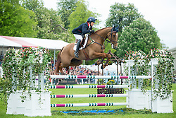 Funnell Pippa, (GBR), Redesigned<br /> Jumping<br /> Mitsubishi Motors Badminton Horse Trials - Badminton 2015<br /> © Hippo Foto - Jon Stroud