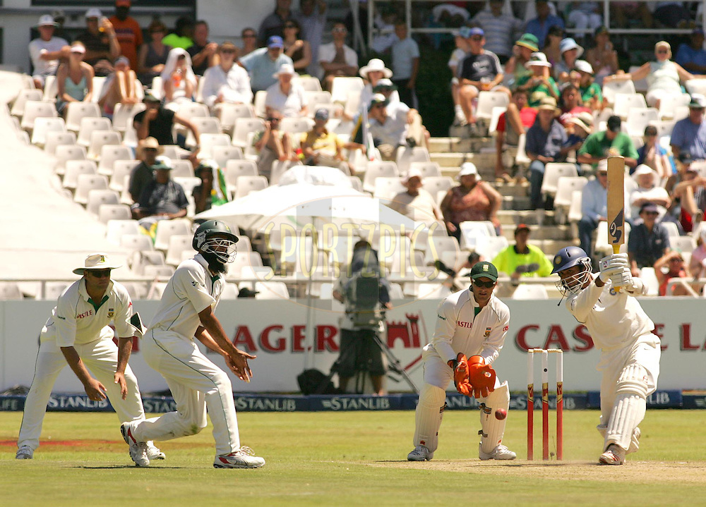 WESTERN CAPE, SOUTH AFRICA - 2nd January 2007, Wasim Jaffer during day 1 of the third test between South Africa and India held at Newlands Stadium, Cape Town...Photo by RG/Sportzpics.net..